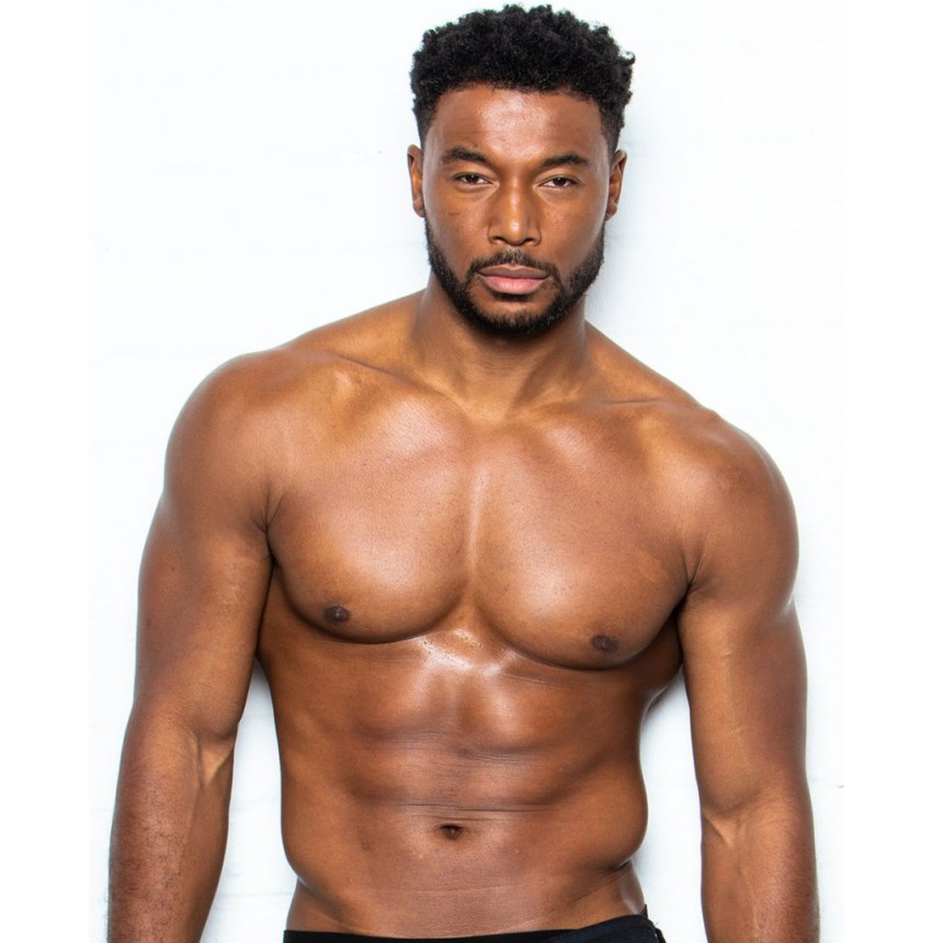 The Magic Mike Live London cast includes the gorgeous Aaron Witter