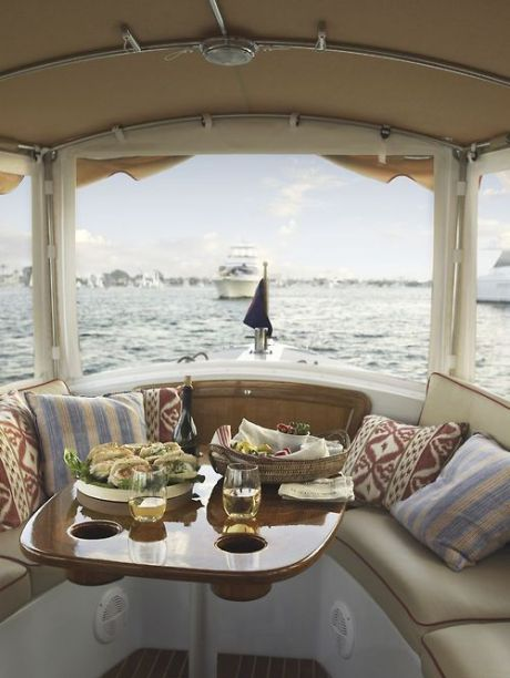 Boat interior decor