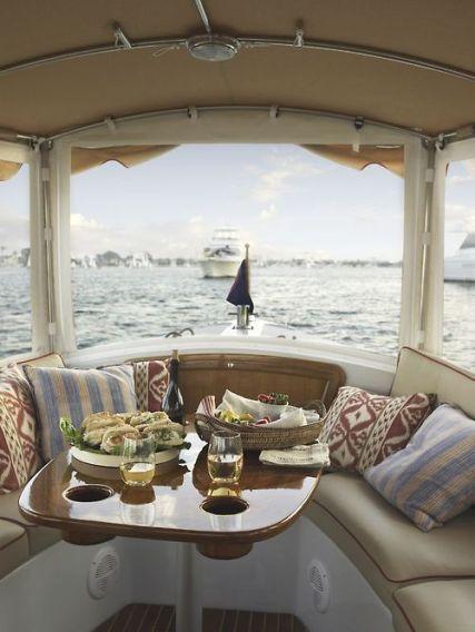 Boat interior decor