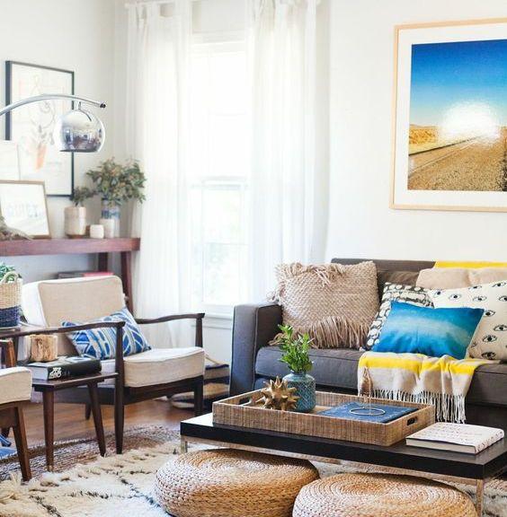 Living Room Decorating Ideas: 10 Fresh Tips with Photos - Lazy Loft ...
