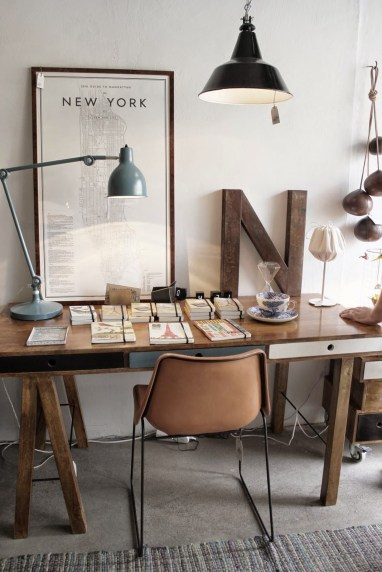 industrial furniture ideas. Industrial Sawhorse Office Industrial Furniture Ideas