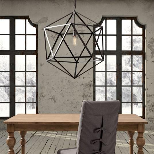 Aalsmeer Large Rust Ceiling Lamp