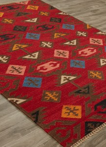 Anatolia Huntington Red Area Rug