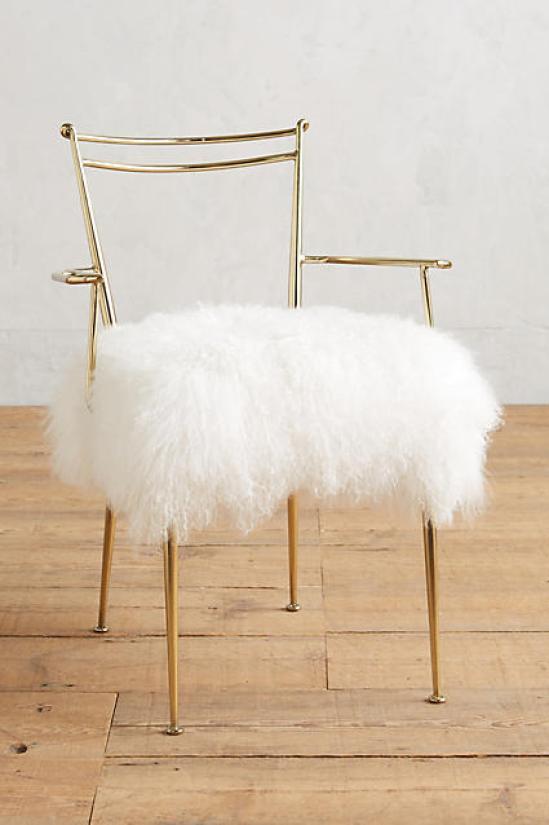 Gold Decor Chair