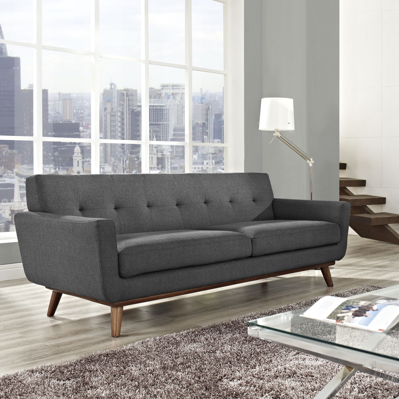 Source: ://froy.com & 5 Couch Styles for Your Living Room from Boho to Industrial.