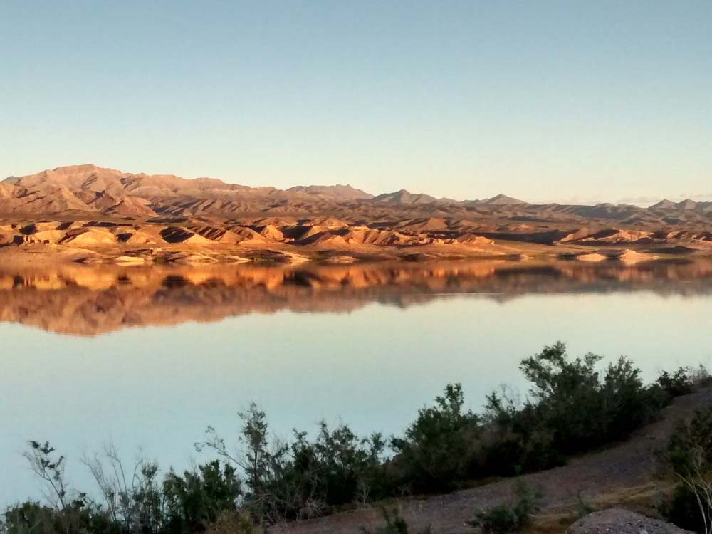 Lake Mead at Sunset