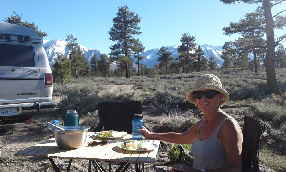 Inyo National Forest Boondocking