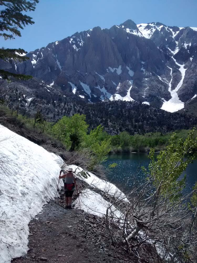 Our hike around Convict Lake