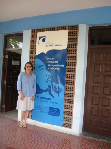 Veronica vists Centro Memorial Dr. Martin Luther King Jr. in Cuba