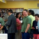 Parents LOVE the first day of school parent coffee!