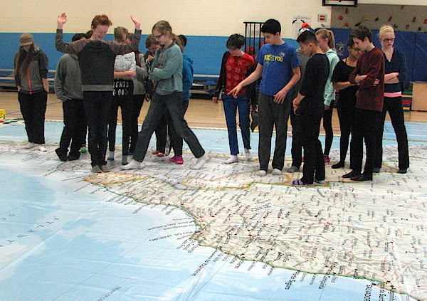 Giant map