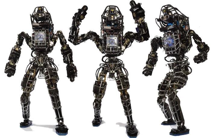 Apesar de tudo que esse robô da Boston Dynamics consegue fazer, ele ainda é meio desajeitado. Ele mal consegue se manter em pé enquanto anda na floresta coberta de neve perto de onde foi fabricado. Mas ele não cai. E isso é importante.