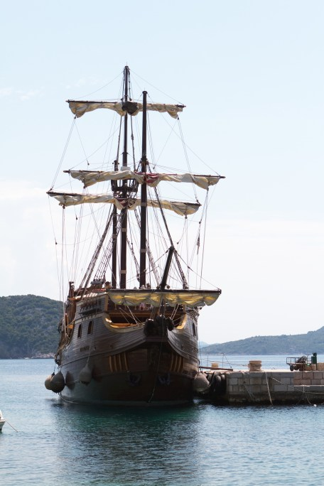 Our pirate ship