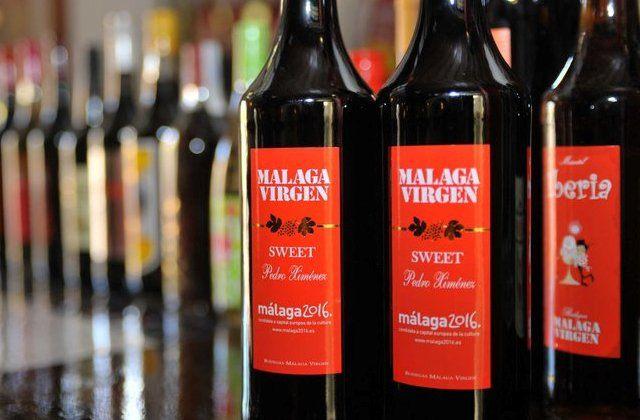 Resultado de imagen de foto vino dulce malaga virgen