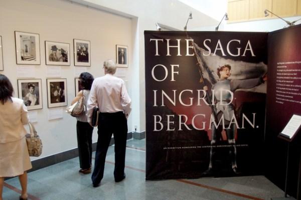 スウェーデン大使館にて『生誕100周年記念イングリッド・バーグマン展』開催
