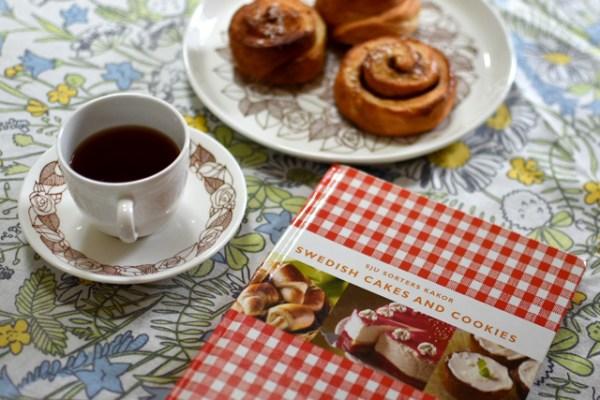 スウェーデンの定番お菓子レシピ本で定番シナモンロール