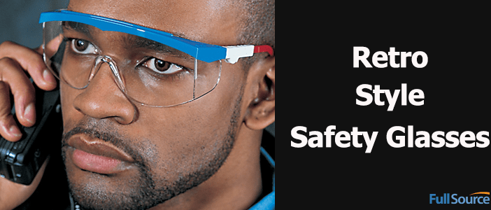 Retro Style Safety Glasses