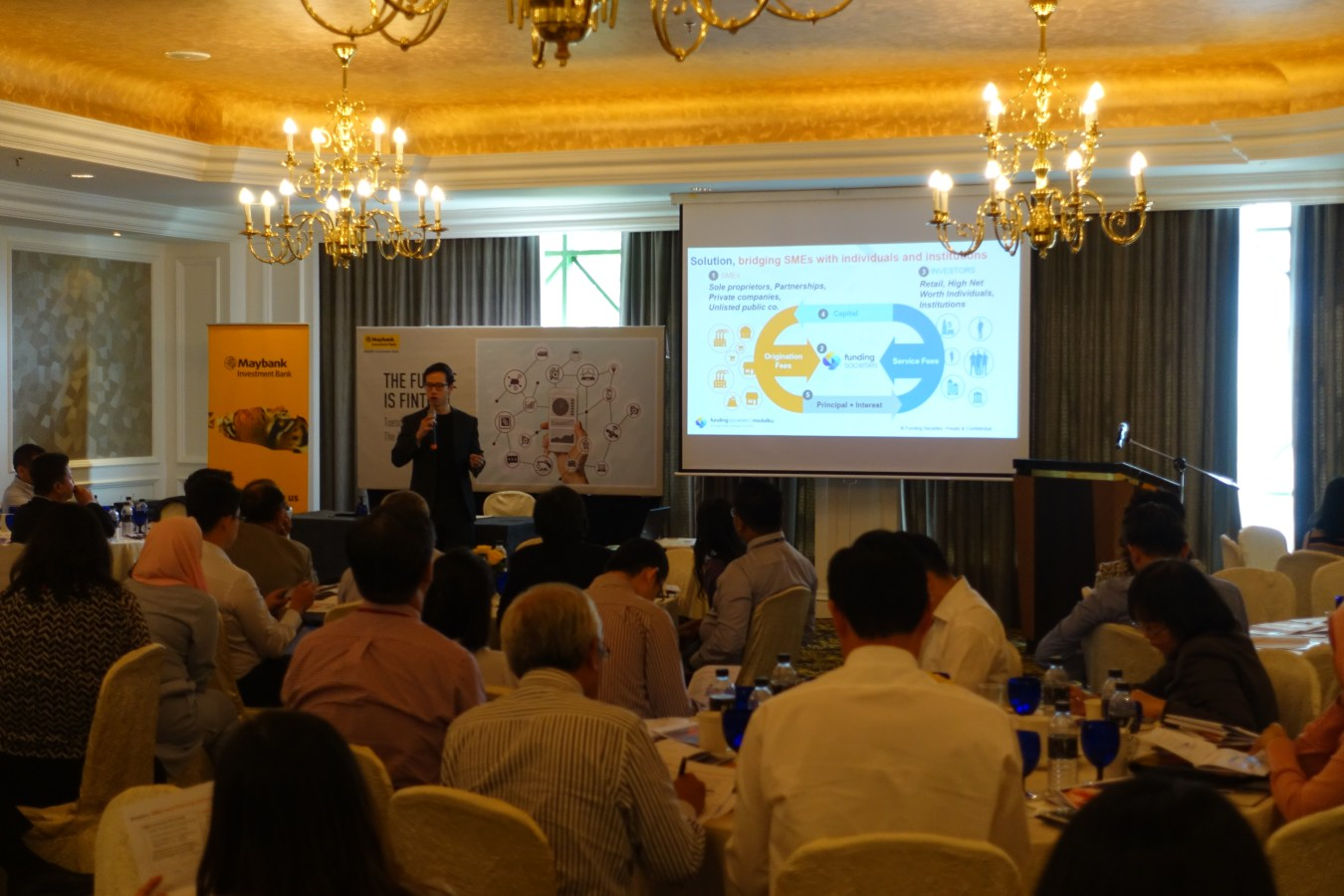 """Funding Societies Malaysia at Maybank's """"The Future is Fintech"""" Event"""
