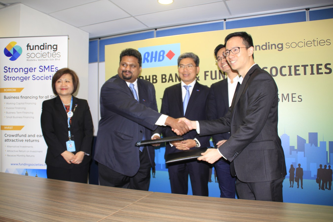 Funding Societies and RHB Banking Group Collaboration