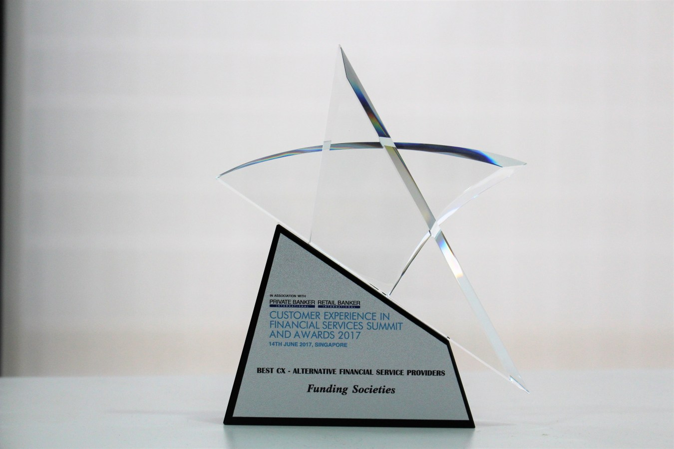 "Funding Societies Wins ""Best Customer Experience – Alternative Financial Service Providers"""