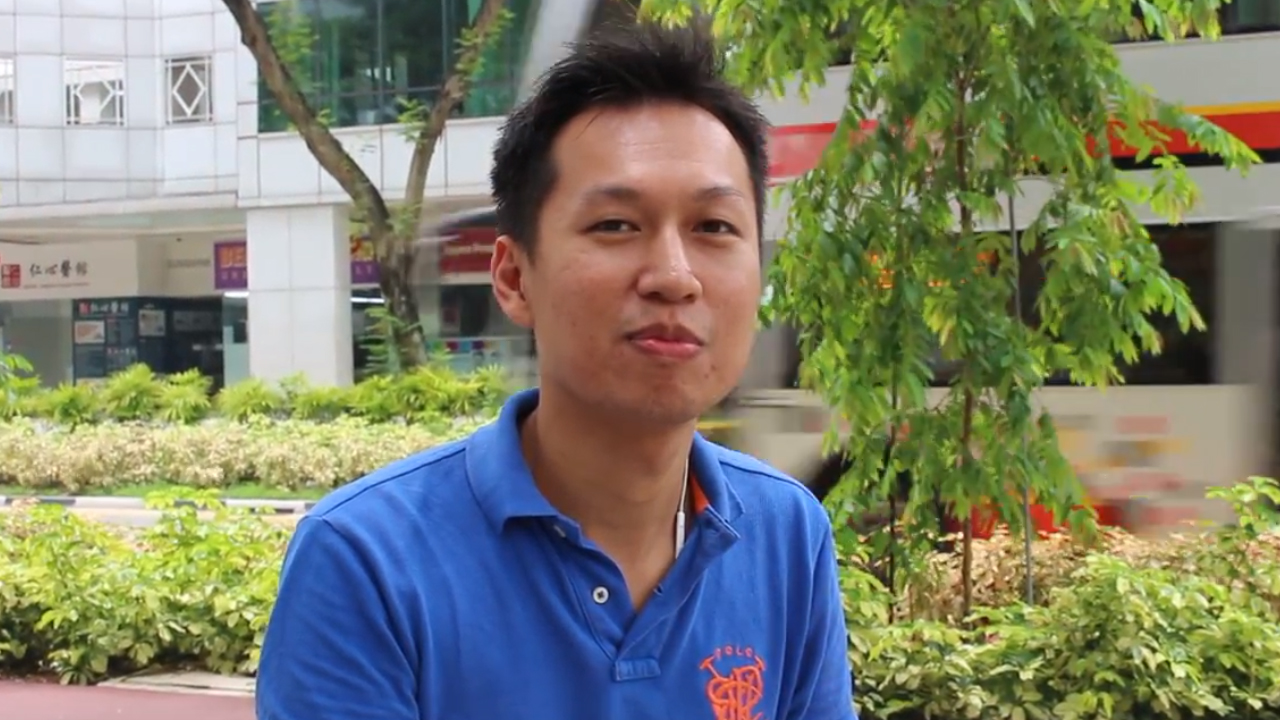 Mr Nelson Ng, Director of World Snack Pte Ltd