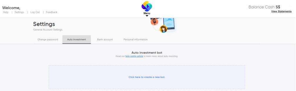 INV WEB Settings