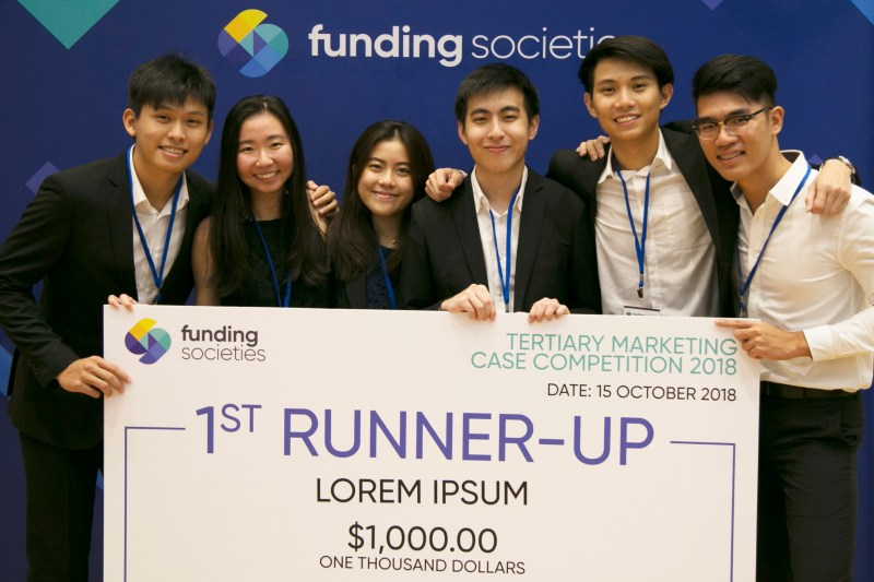 Funding Societies Tertiary Marketing Case Competition 1st Runner Up - Lorem Ipsum