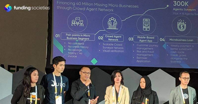Modalku won the Microenterprise Fintech Innovation Challenge Award by the United Nations Capital Development Fund (UNCDF) and the Jakarta Pulse Lab UN