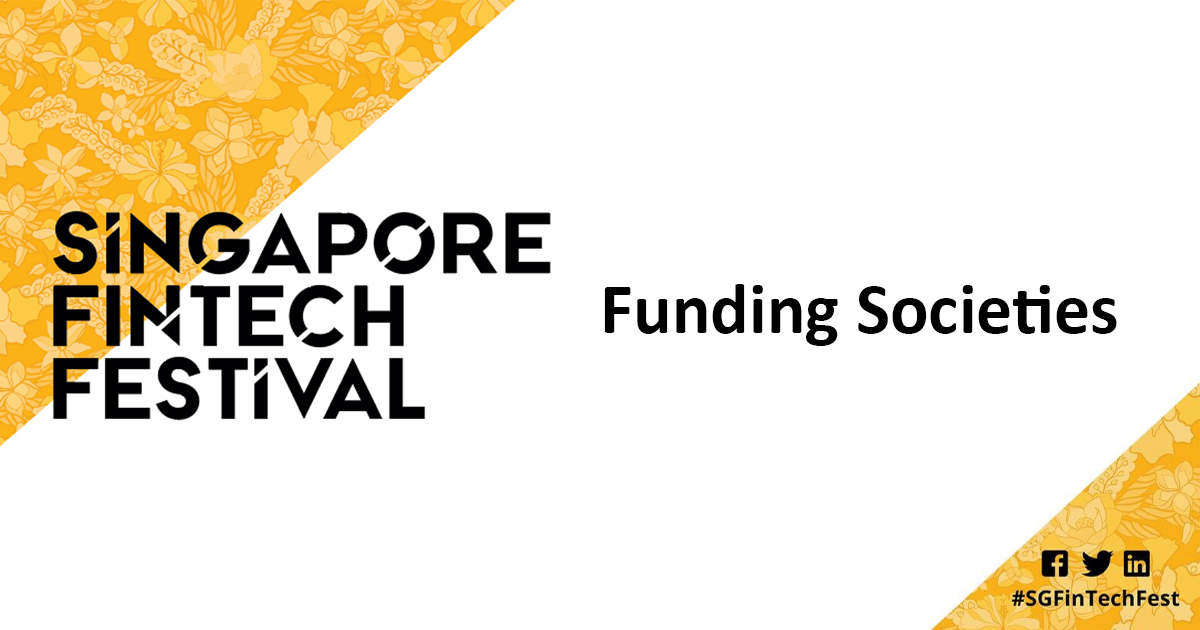 Funding Societies at Singapore Fintech Festival