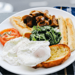 Host a hospital breakfast to raise money.
