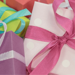 Wrap gifts during the holidays to raise money for your school