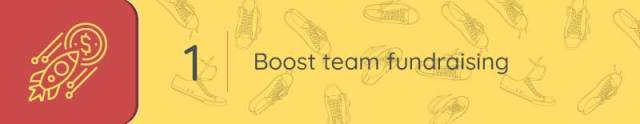 Sports and recreation tools can help you boost team fundraising.