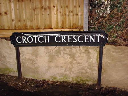 Crotch Crescent, UK