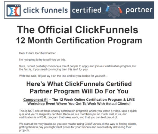 Everything about Clickfunnels Certification Cost