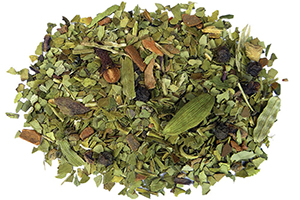 Chai Spice yerba mate energizing tea for sports and activities