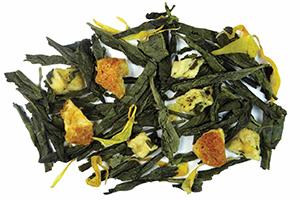 Lemon Meringue Green Tea Loose Leaf Dessert Tea to beat sugar cravings