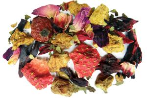 Strawberry Ginger Herbal Tea