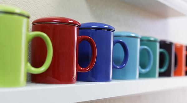Teaz Infuser Mug for a tea care package