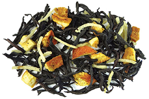 50 50 Delight Orange Creamsicle Black Tea with Coconut for Mother's Day Gifts