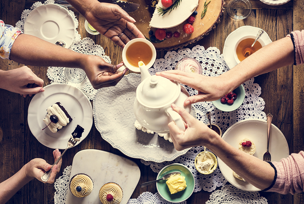 best teas to serve at a tea party