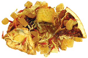 Majestic Mango herbal fruit tea