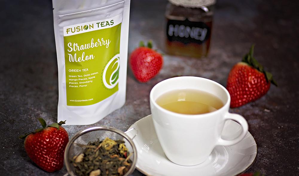 Strawberry Melon Green Tea