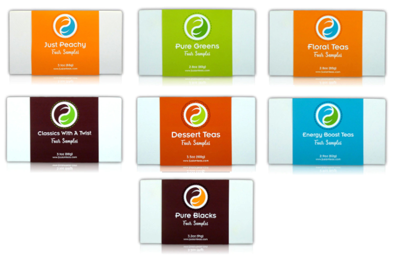 New Loose Leaf Tea Sampler Sets