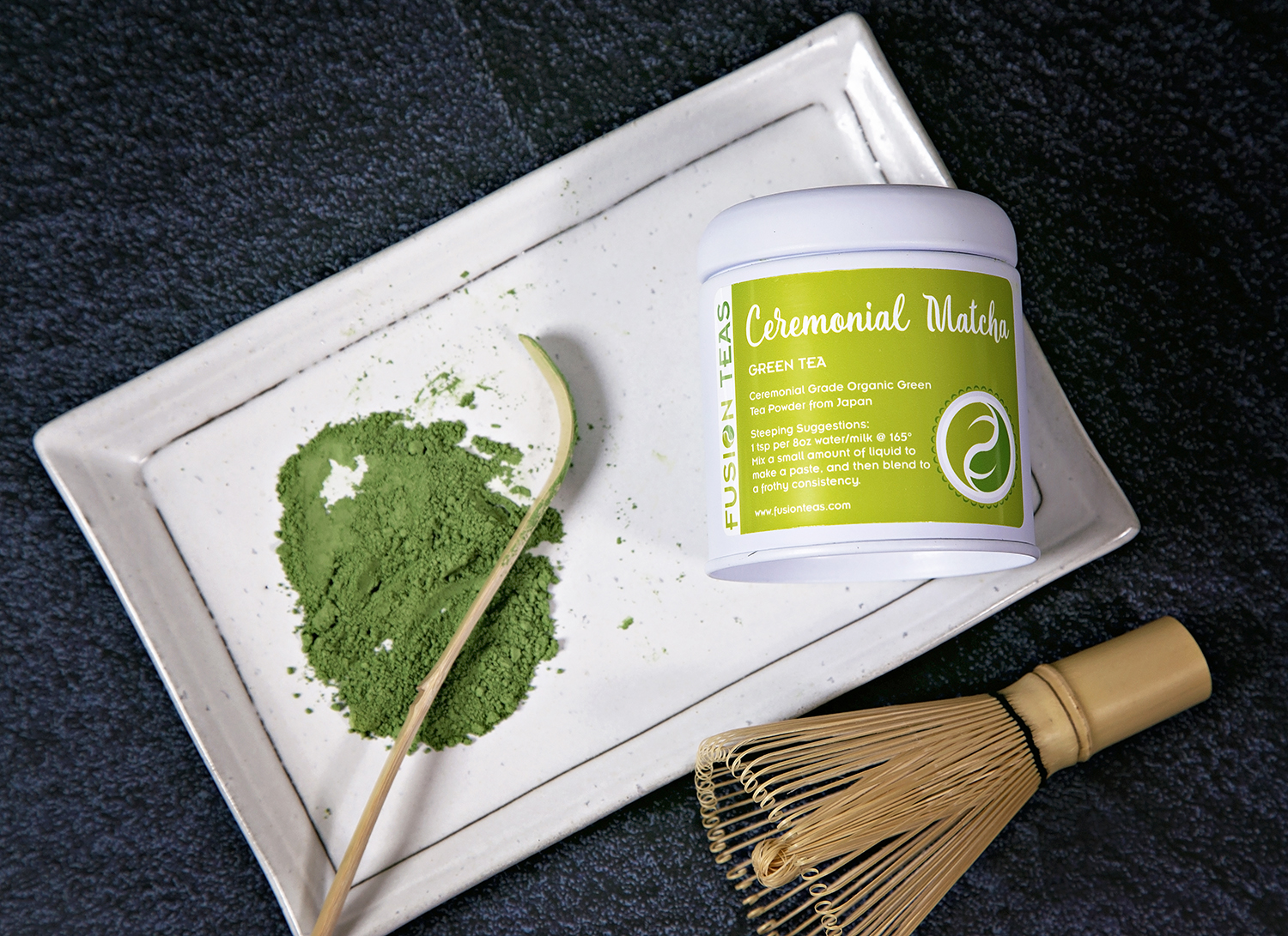 Matcha green tea powder ceremonial organic