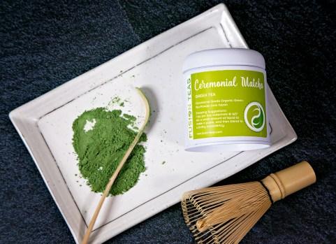 Matcha green tea powder ceremonial organic