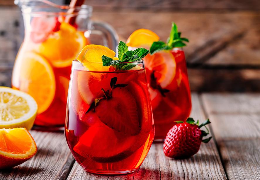 Sangria Iced Tea Cocktail Recipe