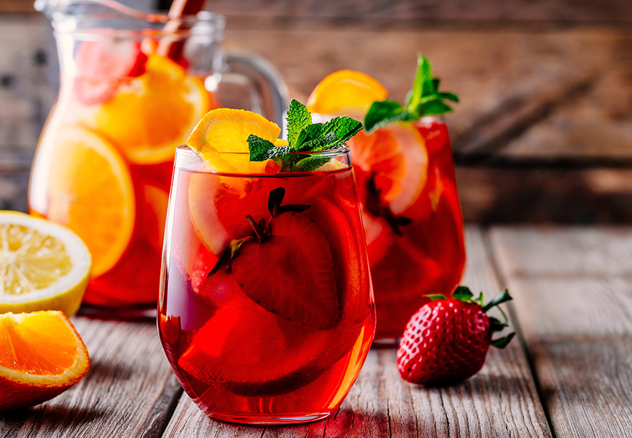 Sangria Iced Tea Cocktail Recipe
