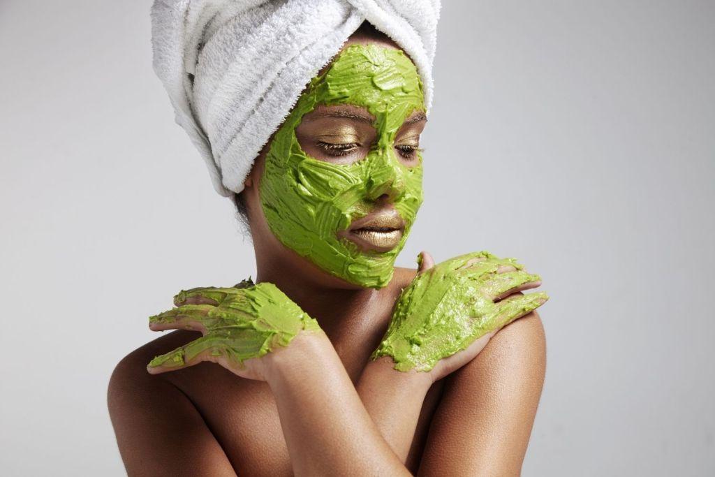 Calming Teas - Green Tea Face Mask