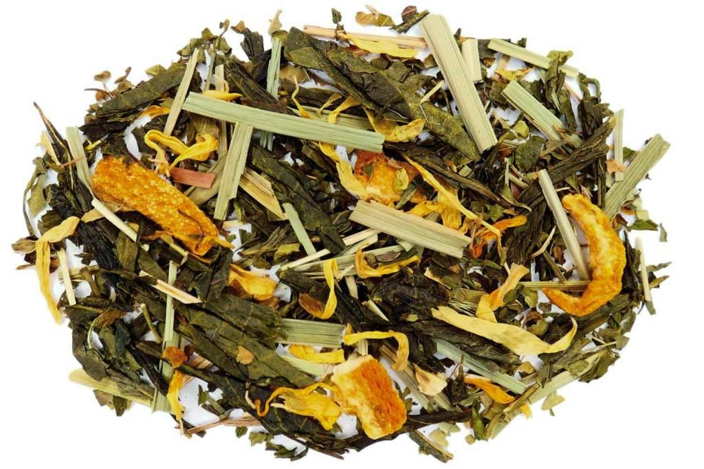 Citrus Mint Loose Leaf Green Tea