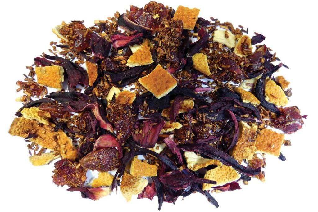 Cranberry Citrus Burst Loose Leaf Rooibos Tea
